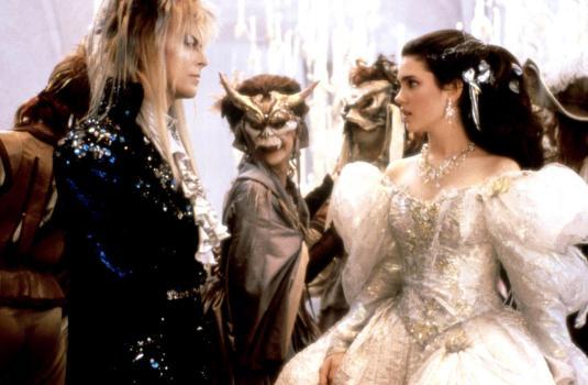 Reise ins Labyrinth, Die USA 1986 Regie: Jim Henson Darsteller: David Bowie, Jennifer Connelly Rollen: Koboldkoenig Jareth, Sarah